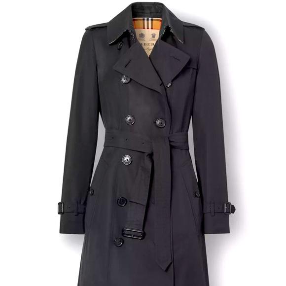 Authentic Burberry Chelsea Heritage Trench Coat-